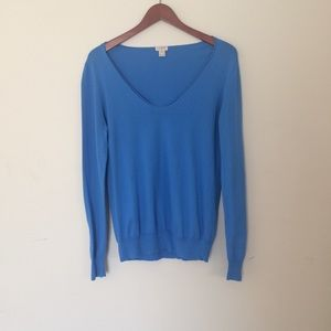 J. Crew Blue Sweater Size M